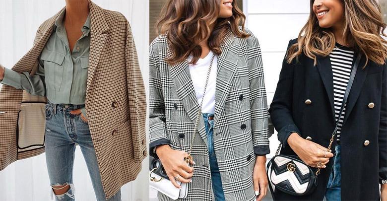 blazer ceket kombinleri kadın