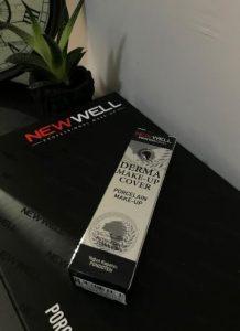 new well derma cover silver fondöten