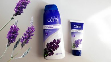 avon care overnight moisture lavantalı vücut losyonu